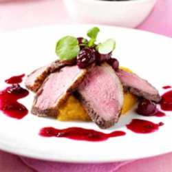 Duck with Cherries