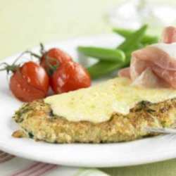 Crispy Pork Escalopes with Edam