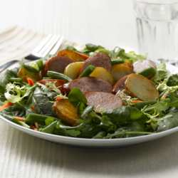Smoked Pork Sausage Salad
