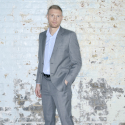 Freddie Flintoff pictured in his newest range for Jacamo