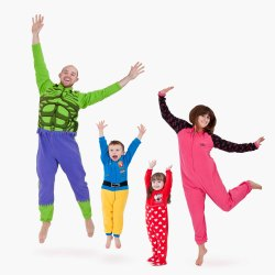 Onesies for the whole family