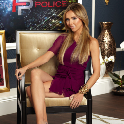 Giuliana Rancic sits of the panel for Fashion Police