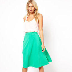 This green skirt is from ASOS