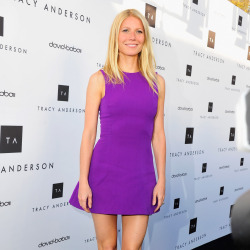 Gwyneth Paltrow wears Victoria Beckham