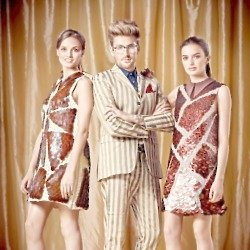 Henry Holland discusses the creation of his chocolate dress