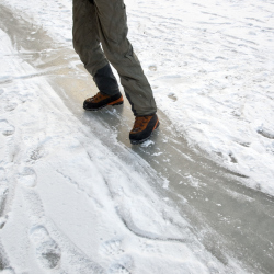 Be careful of the ice this winter