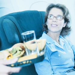 In-flight meals can lead to horror stories