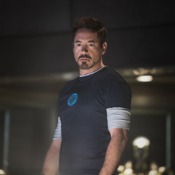 Robert Downey Jr as Iron Man