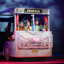 Priscilla Queen of the Desert and it's three riders