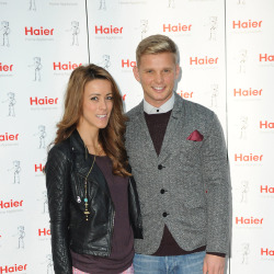 Nicola T and Jeff Brazier