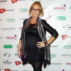 Jenny Frost looked chic in her black lace