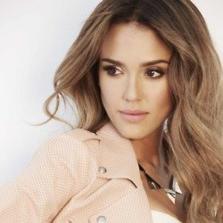 Jessica Alba poses in a new campaign for Braun
