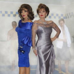 Joan Collins and Stephanie Beacham are in the new Snickers campaign