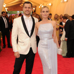 Joshua Jackson and Diane Kruger make a stylish appearance at the Met Gala