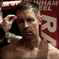 Matty Burton (Paddy Considine) in Journeyman - Image by Dean Rogers