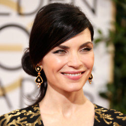 Julianna Margulies was glowing at last night's Golden Globes