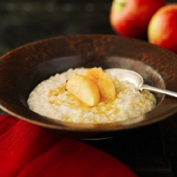 Winter Warmers: Apple and Toffee Rice Pudding