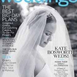 Kate Bosworth had her wedding covered in Martha Stewart's magazine