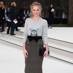 Kate Bosworth wears her Burberry version