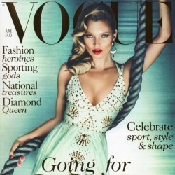Kate Moss covers Vogue
