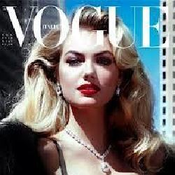 Kate Upton's Vogue Italia Cover