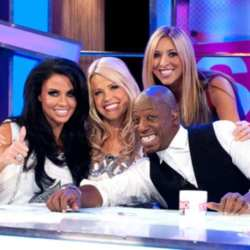 Katie Price with the Live From Studio Five hosts