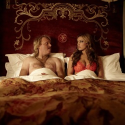 Keith Lemon With Kelly Brook In The Film