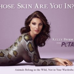 Kelly Brook for PETA