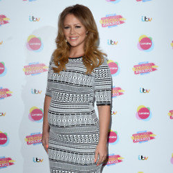Kimberley is favouring comfort over style during her pregnancy