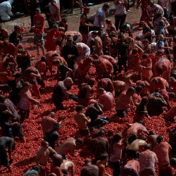 La Tomatina, Spain - image courtesy of MikeJamieson(1950) on Flickr