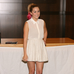 Lauren Conrad sporting the dip-dye trend