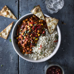 Mixed Bean Piccadillo