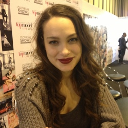 Letitia Herod looking beautiful at the Clothes Show Live
