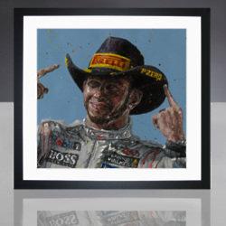Lewis Hamilton by Paul Oz