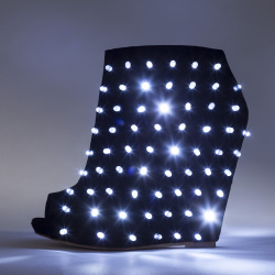 Liam Fahy's light-up shoe