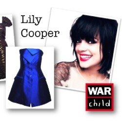 Lily Cooper has donated pieces from her wardrobe