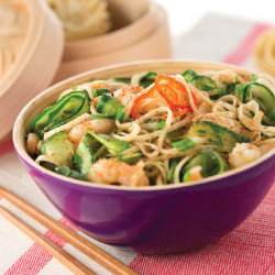 Healthy Recipe: Prawn Noodle Salad