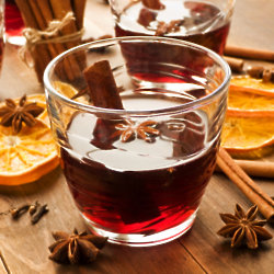 Mulled wine is a favourite of this time of year