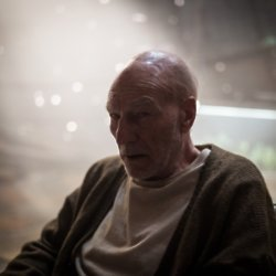 Patrick Stewart as Professor X in Logan