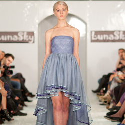The opening look from Luna Sky S/S 13