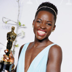 Get the beauty look Lupita wore for the Oscars with these tips