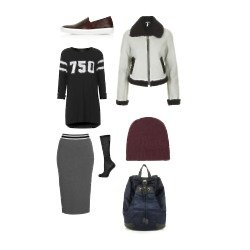 We love this sports luxe style at Topshop