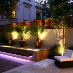 Get the lighting right in your small garden
