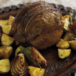 Mini lamb roasting joint recipe with Mark Sargeant
