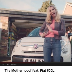Motherhood feat. Fiat 500L