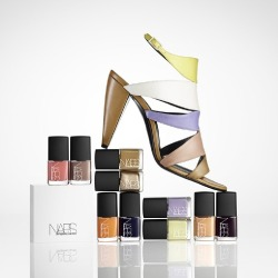 The Pierre Hardy for Nars collection
