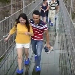 New Glass-Bottom Bridge