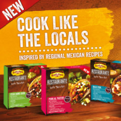 Cook like the locals with Old El Paso's Restaurante range