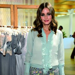 Olivia Palermo looks chic in sugar-coated colours