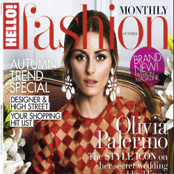 Olivia Palermo covers Hello! Fashion Monthly